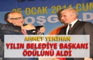 Ahmet Yenihan Tokatın En Başarılı Belediye Başkanı Seçildi