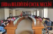Erbaa Belediyesi Çocuk Meclisi Toplandı