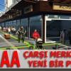 Erbaa'da Yeni Çarşı Projesi