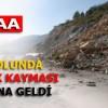 Erbaa'da Toprak Kayması Meydana Geldi