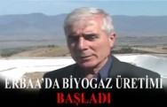 Erbaa'da Çöpten Biyogaz Üretimine Başlandı