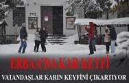 Erbaa'da  Kar Keyfi