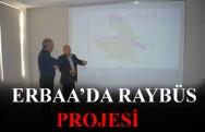 Erbaa'da Ray Otobüs Projesi