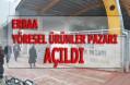 Erbaa'da Yöresel Ürünler Pazarı Hizmet Vermeye Başladı