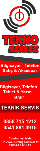 Erbaa Bilgisayar, Tekno Merkez, Erbaa Bilgisayar Tamir, Erbaa Tablet Tamir, Erbaa Telefon Tamir